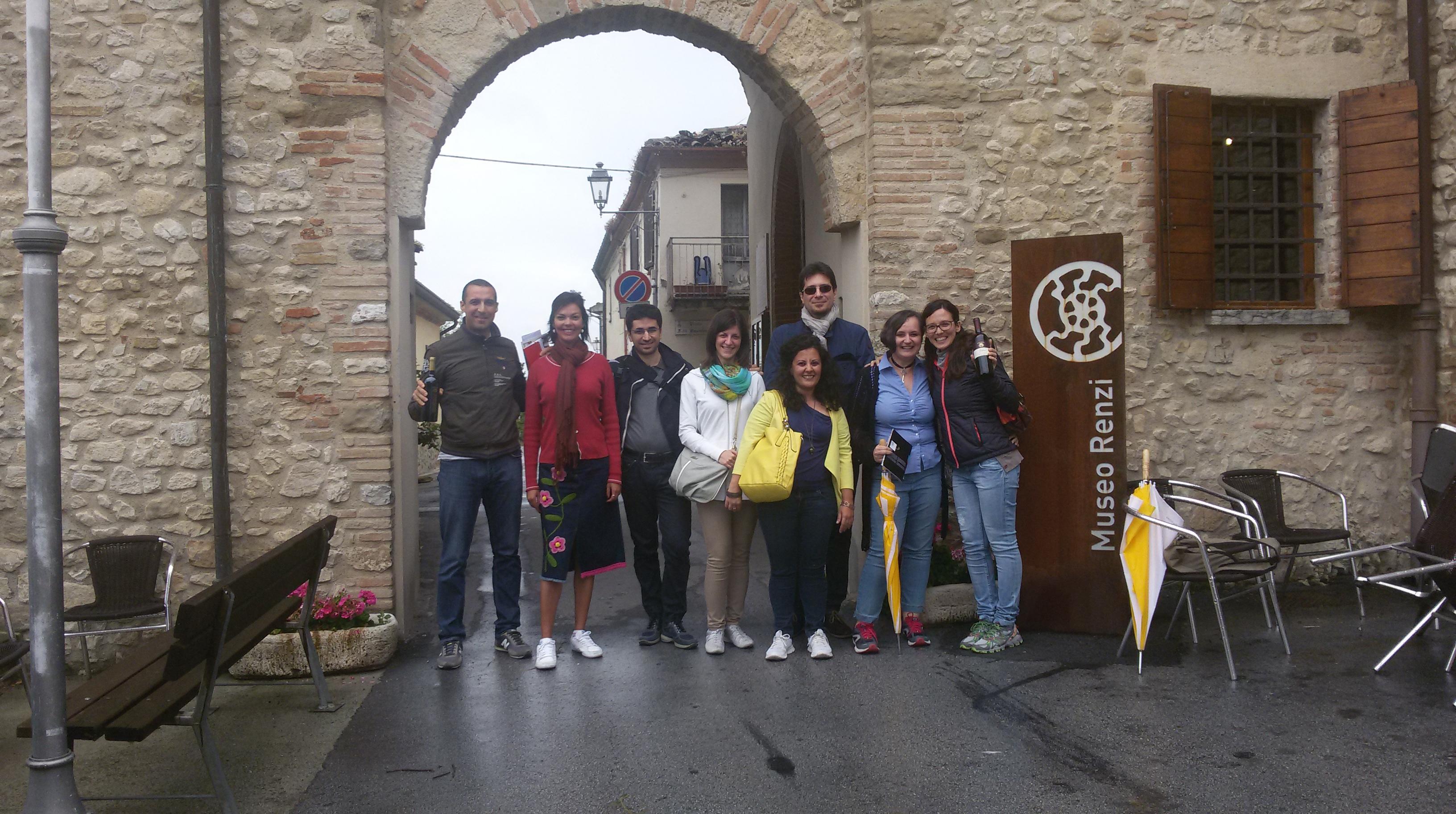 Finti intellettuali al Museo Renzi di San Giovanni in Galilea