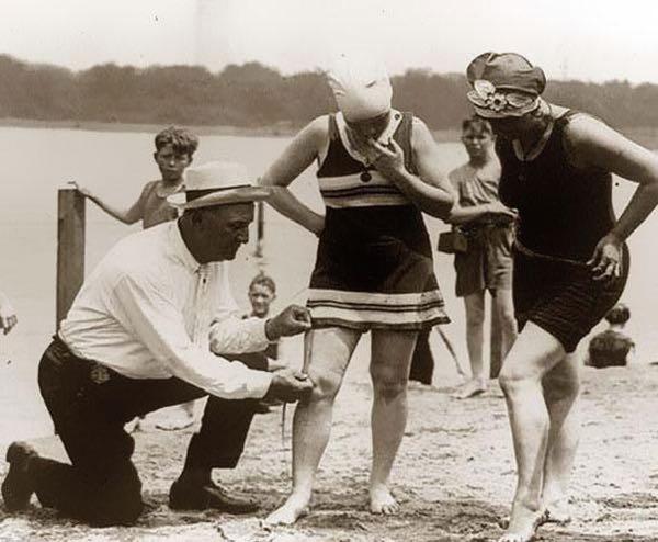 pattuglie della spiaggia anni 20 - hotel san salvador - igea marina