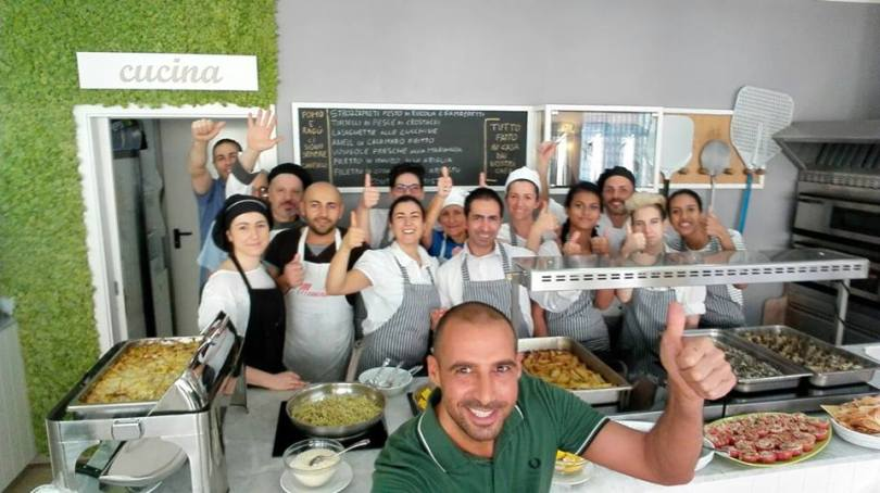 selfie cucina - hotel san salvador - igea marina